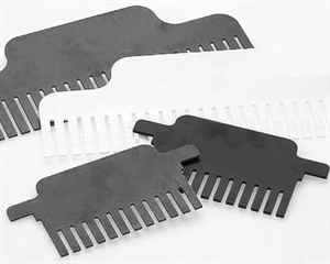 Combs 1.5mm, 21 well 24µl/well for Compact M