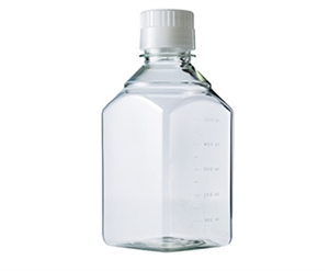 Medieflaske square 500 ml PET