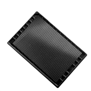MicroWell Plates 1536, PS Non-treated, Black