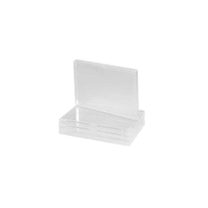 Microplate Lids, PS 96 well Clear, Hight 7,9 mm