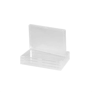 Microplate Lids, PS 96 well Clear, Hight 8,9 mm