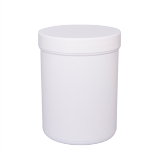 Containers 250ml 65x90mm PP with white screwcap