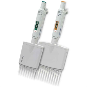 Manual pipette 855  8-channel 5 - 50 µL, adjustable