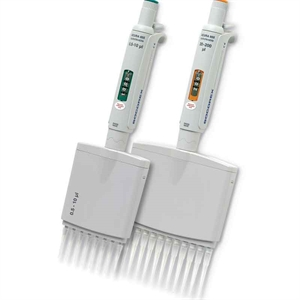 Manual pipette 855 12-channel 5 - 50 µL, adjustable