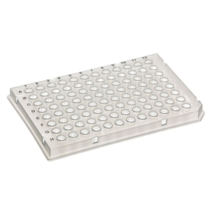 96-Well PCR Plate 10/pk, 10pk/cs, part skirt (light c.)