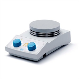 Magnetic stirrer hotplate analog, safety heating switch